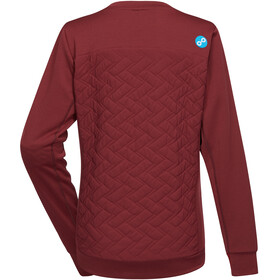 PYUA Dusk 2.0 Pullover Women burgundy red